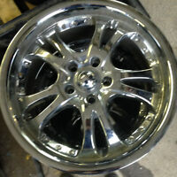 Chrome American Racing Wheels - 17""