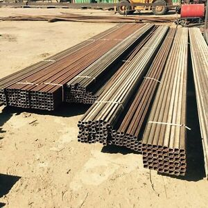 Square tubing and Straightened Coil Tubing