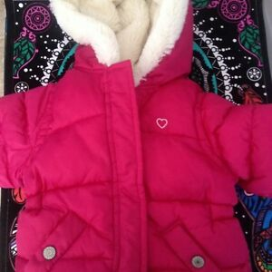 Old navy baby girl winter jacket