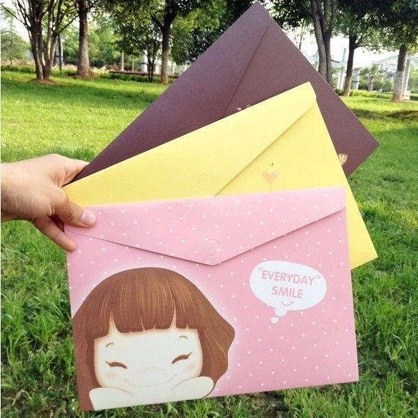 Cookie Girl File Folder