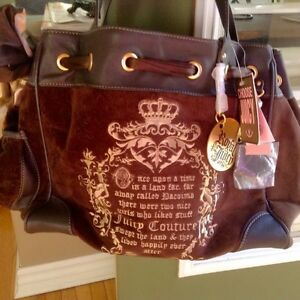 NEW w/tags: Authentic Juicy Couture Velour Daydreamer Bag/Purse London Ontario image 2