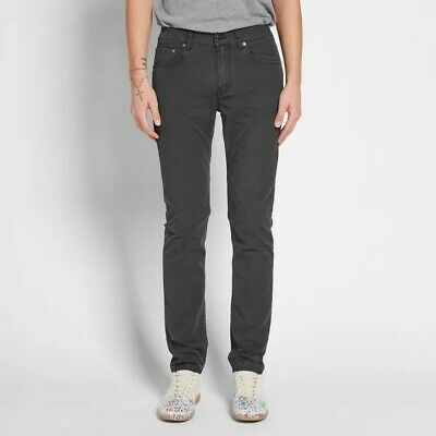 "Acne Studio-Men's Size 30/32 Classic ""Ace ups"" Black Straight Jeans"