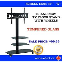 TV CARTS ON SALE!! - BRAND NEW!! $99.99