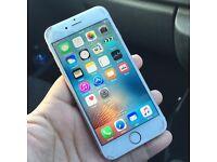 Apple iPhone 6s - 16gb rose gold unlocked crack screen
