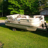 G3 Yamaha LX20 Cruise Pontoon Boat & Trailer