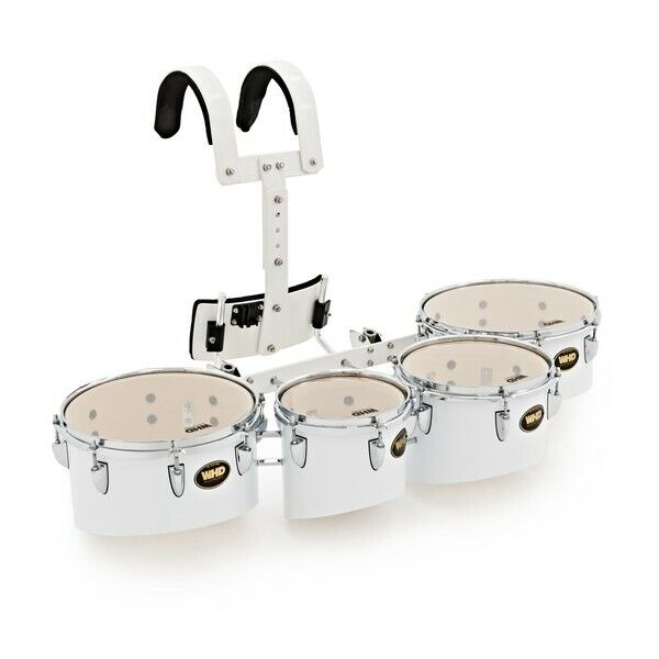 WHD Professional Marching Tom Set with Carrier 8'' 10'' 12'' 13''