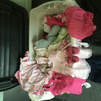 Girls baby clothes 0-6 months