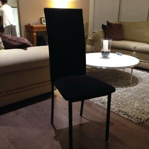 Black chairs [2] in great condition