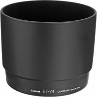 CANON LENS HOOD ET-74 - 100% CANON ORIGINAL (MADE IN JAPAN)