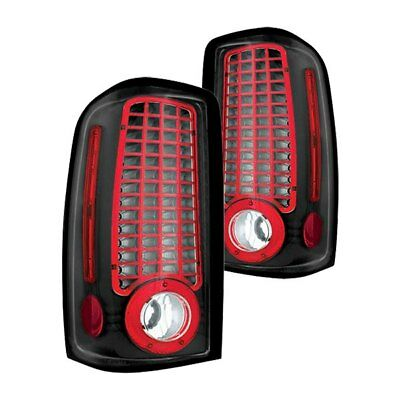 For Chevy Suburban 2500 00-06 IPCW LEDT-304CB Bermuda Black LED Tail Lights