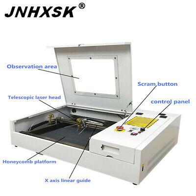 400400mm Laser Engraver Cutter Machine Acrylic Stone Mdf Engraving Cutting Cnc