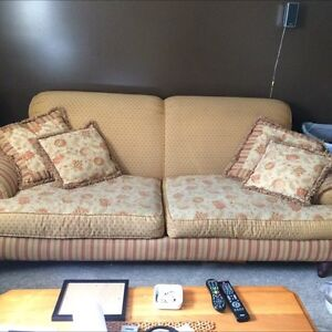 Sofa and chair need gone asap will negotiate price