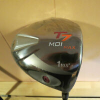 New Integra T7 MOI MAX Right Hand Driver with headcover