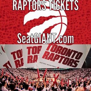 TORONTO RAPTORS HOME OPENER TICKETS FROM $32!!!