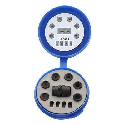Hamskea InSight Standard Peep Kit (Housing, 6 Apertures/Tool, Case) - PEEP060