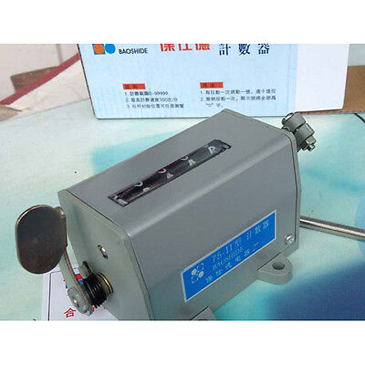 Mini 5 Digit Hand Tally Mechanical Counter Arithmometer Boadb