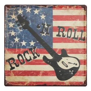 Rock and Roll Decoratiebord | Gratis Verzending