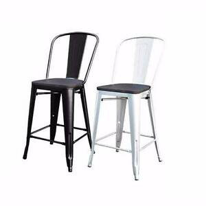 Replica Tolix Bar Chairs 65cm high suits Home Cafe Restaurant Silverwater Auburn Area Preview