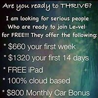 Want to be a LeVel Brand Promoter? Join my team!! It's FREE