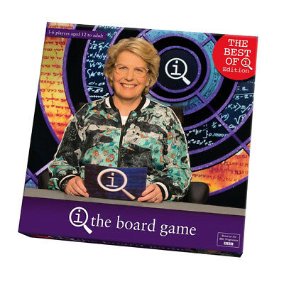 Best of QI The Board Game w/Sandy Toksvic Fun Quiz Party Family Quiz Trivia Game