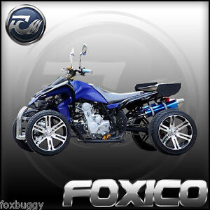250CC FOXICO STREET RACING QUAD SLIDE DIRT BIKE ATV 4 WHEELER GOKART BUGGY