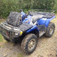 I Want To Trade 2 ATVs For A Good Side X Side ???