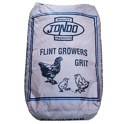 CHICKEN POULTRY GRIT Jondo Flint Growers Grit 25kg Hen / Turkey / Goose (DOE004)