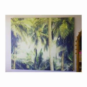 Huge palms mounted canvas 1.25 x 1.5m Northcote Darebin Area Preview