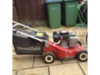 Mountfield mirage petrol lawnmower