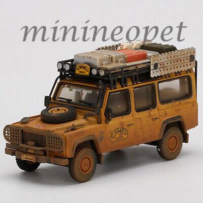 MINI GT 221 LAND ROVER DEFENDER 110 1989 CAMEL TROPHY WINNER TEAM UK DIRTY 1/64