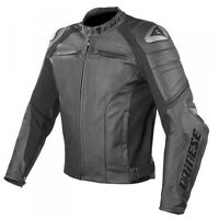 Dainese Racing C2 motorcyle Jacket (all black special addition)