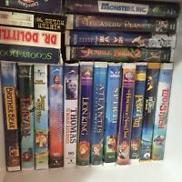 VHS Disney movies 60+ in total