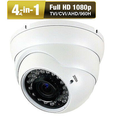 HD 4-in-1 Sony CMOS 2.6 MP 1080P IP66 Security Camera O1 2.8~12mm Lens OSD AHD