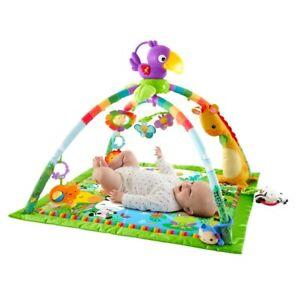 Fisher-Price Rainforest Music & Lights Deluxe Baby & Newborn Gym