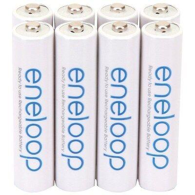 PANASONIC BK-4MCCA8BA eneloop NiMH rechargeable Batteries (AAA; 8 pk) for sale  Shipping to India