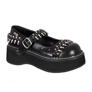 Looking for Demonia EMILY-309 Bullet Strap Gothic Mary Janes