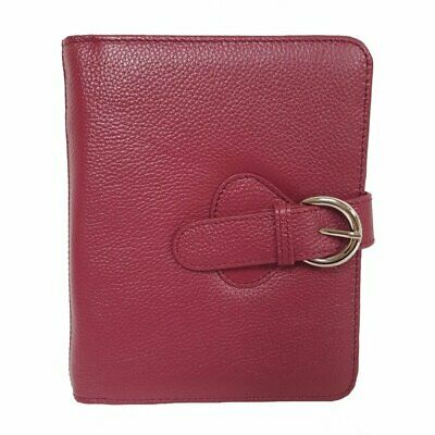 Franklin Covey Ava Leather Binder Compact Plum 6 Inches X 7.5 X 1.25