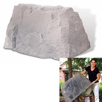 DekoRRa Mock Rock 110FS - Irrigation Backflow Cover Rock - Important Sizing -