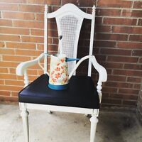 Shabby Chic Reinished Annie Sloan Antique Chair!