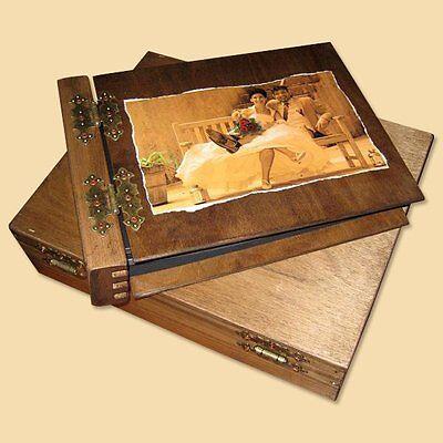 Holz Gästebuch