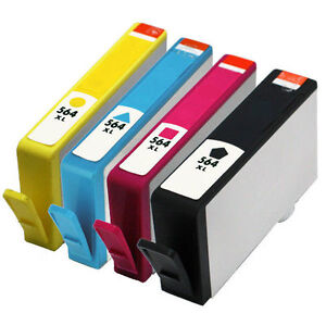 New Compatible for HP Ink Cartridges Set of 4 XL 564 932 920
