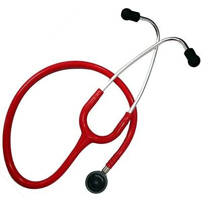 Riester 4210-04 Duplex 2.0 Stainless Steel Stethoscope Red