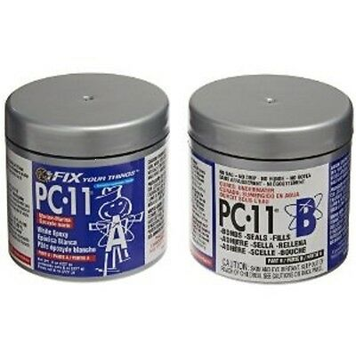 1 Lb Pc11 White Epoxy Cementpaste Marine Grade Works On Wet Or Dry Surfaces