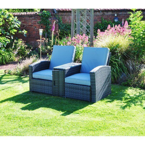 Corner Sofas Gumtree Liverpool: Rattan Multi Lounger 2 Person Garden Patio Furniture Set