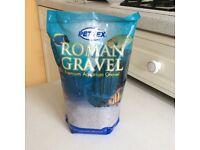 PETTEX ROMAN GRAVEL PEWTER SAND AQUARIUM SAND 2kg