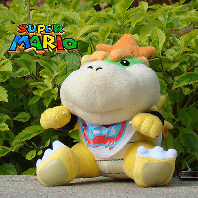 Nintendo Super Mario Bros Plush Toy Bowser Jr. Koopa Son Stuffed Animal Doll 6