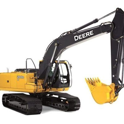 John Deere 200d-lc Excavator Full Undercarriage