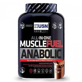 USN MUSCLE FUEL 2.27KG HIGH PROTEIN MEAL REPLACEMENT POWDER DRINK SHAKE **RRP £28.99** CHOCOLATE