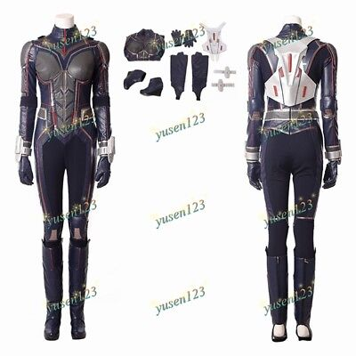 The Wasp Hope Van Dyne Halloween Cosplay Costume Jumpsuit Armour Gloves Shoes](The Wasp Halloween Costume)