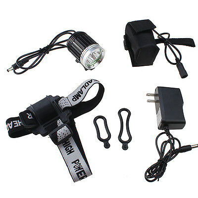4000 Lumens 3x CREE XM-L T6 LED 4 Mode Headlight Headlamp Bike Bicycle light NEW